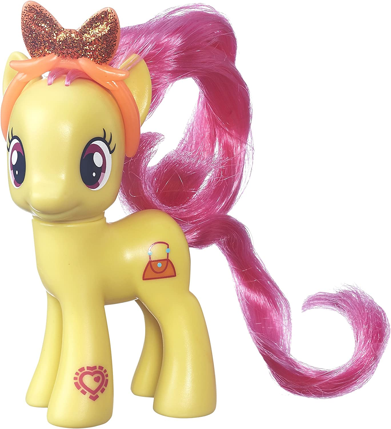 My Little Pony Friendship is Magic Pursey Pink Figure
