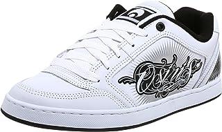 Osiris Men's Merk II Maxx 242 Sneaker,White/Black,5.5 M