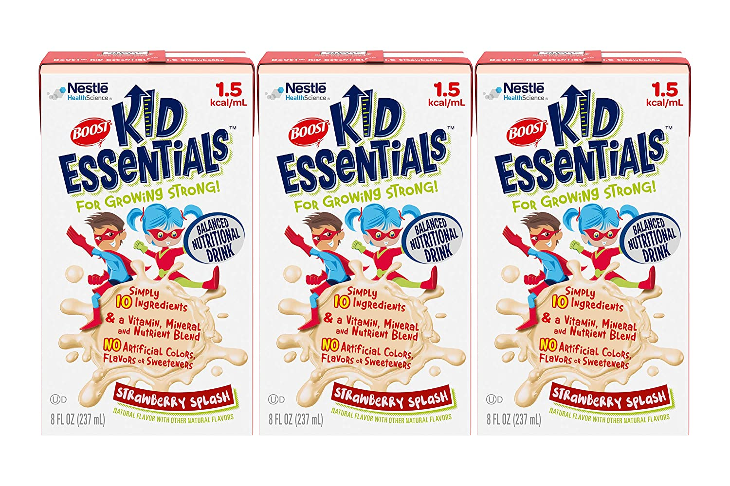 Boost Kid Essentials 1.5 Balanced Branded goods Nutritional Drink OFFicial shop Strawberry