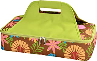 """Picnic at Ascot Original Insulated Thermal Food & Casserole Carrier- keeps Food Hot or Cold- Fits 15"""" x 10"""" Casserole Dish- Designed & Quality Approved in the USA"""