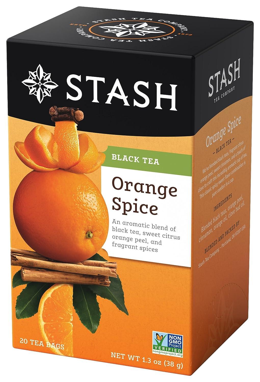 Stash Tea Orange Spice Black 1.3 in 20 favorite Count oz Max 53% OFF Foi Bags