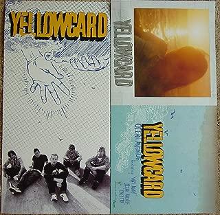 Yellowcard - Ocean Avenue - Two Sided Poster - Rare - New - Ryan Key - Sean Mackin - Ben Harper - Peter Mosely - Longineu W. Parsons III - Rough Landing, Holly - Yellow Card