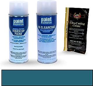 PAINTSCRATCH Blue Streak Metallic 8T7 for 2019 Toyota Camry - Touch Up Paint Spray Can Kit - Original Factory OEM Automotive Paint - Color Match Guaranteed