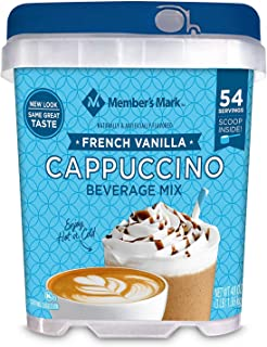Member's Mark French Vanilla Cappuccino Beverage Mix (48 oz.) 54 Servings