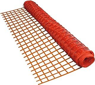 ALEKO SF6535OR3X330 Multi Purpose Safety Snow Fence 3 x 330 Feet Orange