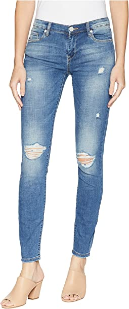 The Reade Denim Skinny Rips At Knee in Around Town