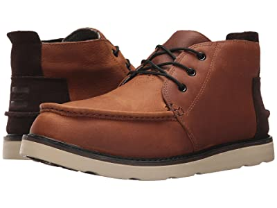 TOMS Chukka Boot (Waterproof Brown Pull-Up Leather) Men