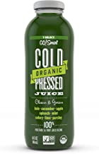 7-Select Organic Cold Pressed Juice - Clean & Green (14 Oz Glass Bottles, 6-Pack)