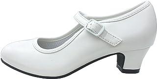 La Senorita Spanische Flamenco Schuhe - Weiß
