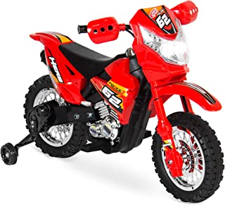 Best Choice Products Kids 6V Ride On Motorcycle w/ Treaded Tires, Working Headlights,..