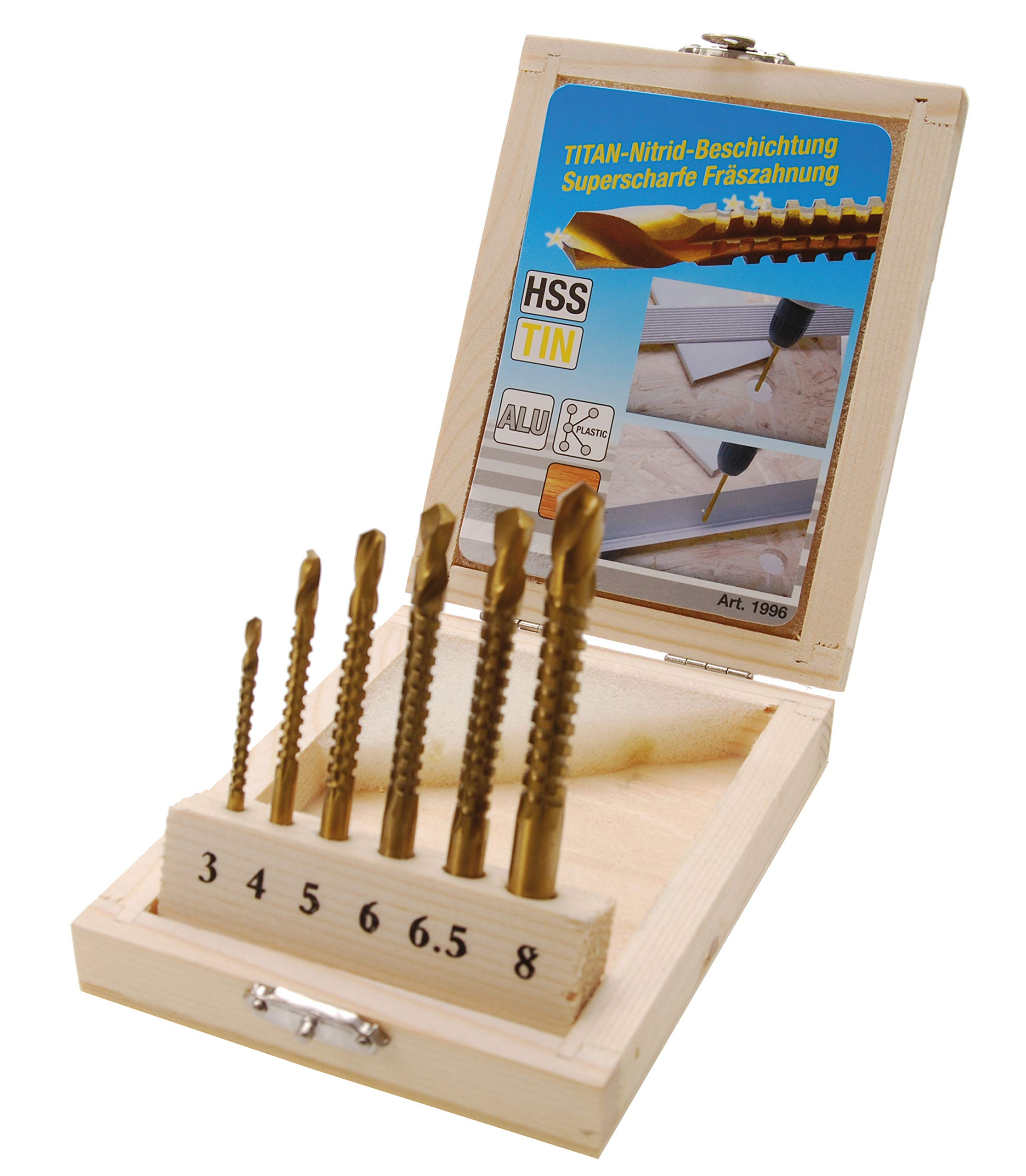 Uncoated 5//16 Cutting Length 1 Length SGS 51071 101 Slow Spiral Drills 0.0260 Cutting Diameter