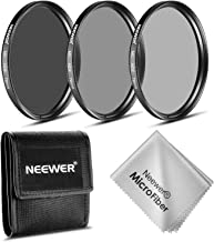 Neewer 72MM ND Filter Set for CANON EF-S 18-200mm f/3.5-5.6 IS Lens,NIKON 24-85mm f/3.5-4.5G ED VR AF-S, 18-200mm f/3.5-5.6G AF-S ED VR II Lens,etc