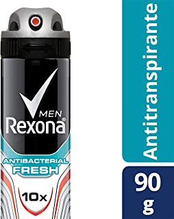 Rexona Antitranspirante Men Antibacterial Fresh en Aerosol para Caballero, 150 ml