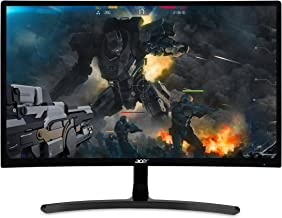 """Acer Gaming Monitor 23.6"""" Curved ED242QR Abidpx 1920 x 1080 144Hz Refresh Rate AMD FREESYNC Technology (Display Port, HDMI & DVI Ports)"""