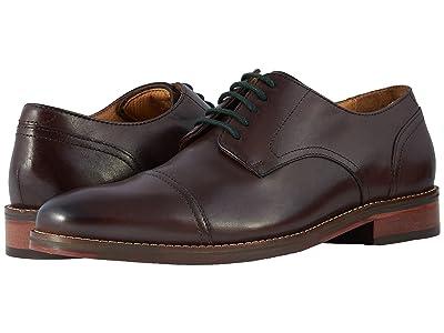 Florsheim Salerno Cap Toe Oxford (Brown Smooth) Men