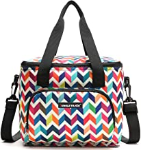 حقيبة صندوق غداء معزولة حراريًا لتبريد حليب الثدي مع حزام قابل للتعديل بسحاب للعمل والسفر والمدرسة والنزهة