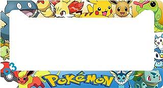 1cc9177b Pokemon Pikachu Eevee Snorlax Pop Auto Car Frame Collage License Plate  Frame Aluminum (Group)