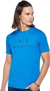 Armani Exchange Men's 8NZTCJ T-Shirt, Blue (Directoire Blue 1559), Medium