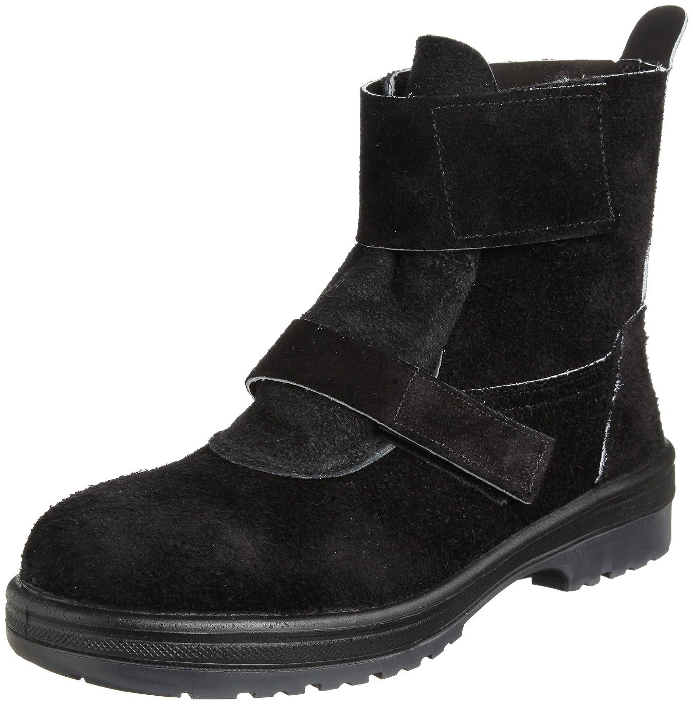 皮ジュニア邪魔[ミドリ安全] 安全靴 JIS規格 二種耐熱靴 熱職場用 長編上靴 マジックタイプ RT4009 メンズ