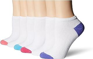 Fruit of the Loom Women's 6 Pack Plus Size Premium Soft Spun No Show Socks