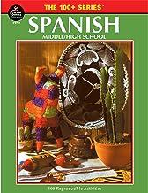 Carson Dellosa The 100 Series: Spanish Workbook―Grades 6-12 Reproducible Activities for..