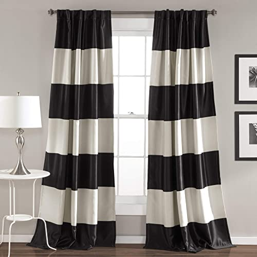 Black and White Striped Curtains: Amazon.com