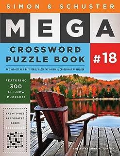 Simon & Schuster Mega Crossword Puzzle Book #18 (18) (S&S Mega Crossword Puzzles)