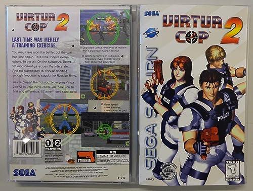Virtua Cop 2 - Sega Saturn