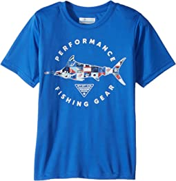 Columbia Kids PFG Freedom Fish Short Sleeve Shirt (Little Kids/Big Kids)