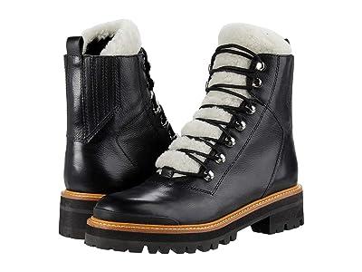 Marc Fisher LTD Izzie (Black/Natural Leather) Women