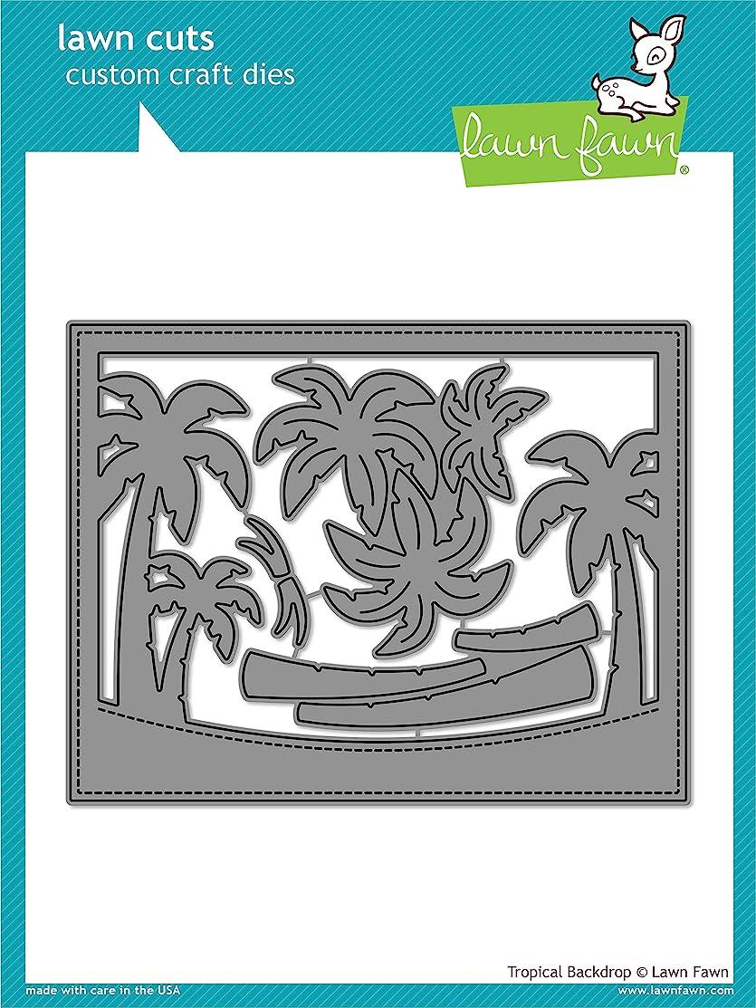 Lawn Fawn Tropical Backdrop Custom Craft Die (LF1986)