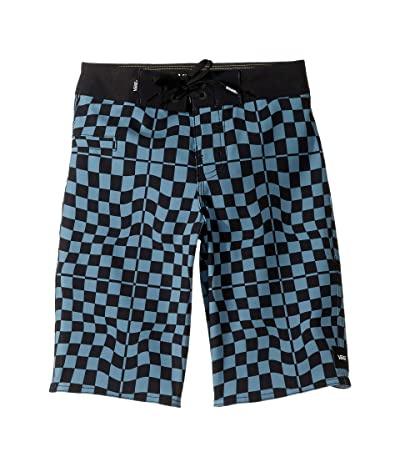 Vans Kids Mixed Boardshorts (Little Kids/Big Kids) (Bluestone) Boy