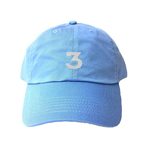 ecc780db9d513 Go All Out Adult Three Embroidered Dad Hat