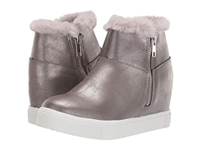 Steve Madden Kids Wanda-F (Little Kid/Big Kid) (Pewter) Girl