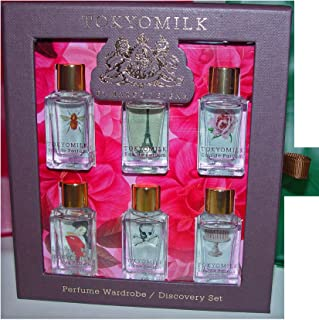 TokyoMilk Perfume Classic Discovery Set 6 X Eau de Parfum .23 oz each. Free Sample included with your purchase