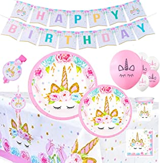 discount unicorn party supplies