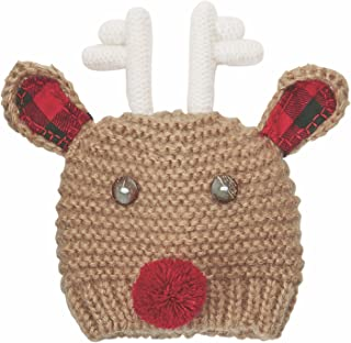 Mud Pie My First Reindeer Hat Cotton Apparel Accessories