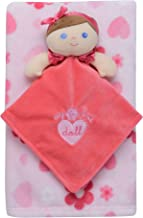 Baby Starters 2-Piece Snuggle Buddy Toy Rattle and Plush Baby Blanket Gift Set for Newborns and New Moms (Pink Doll, 30