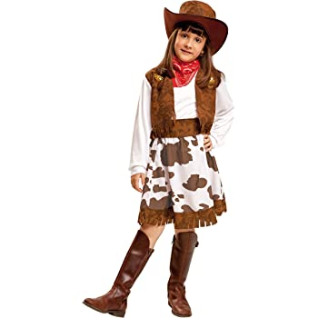 My Other Me Me-200829 Disfraz de vaquera para niña, color blanco y ...