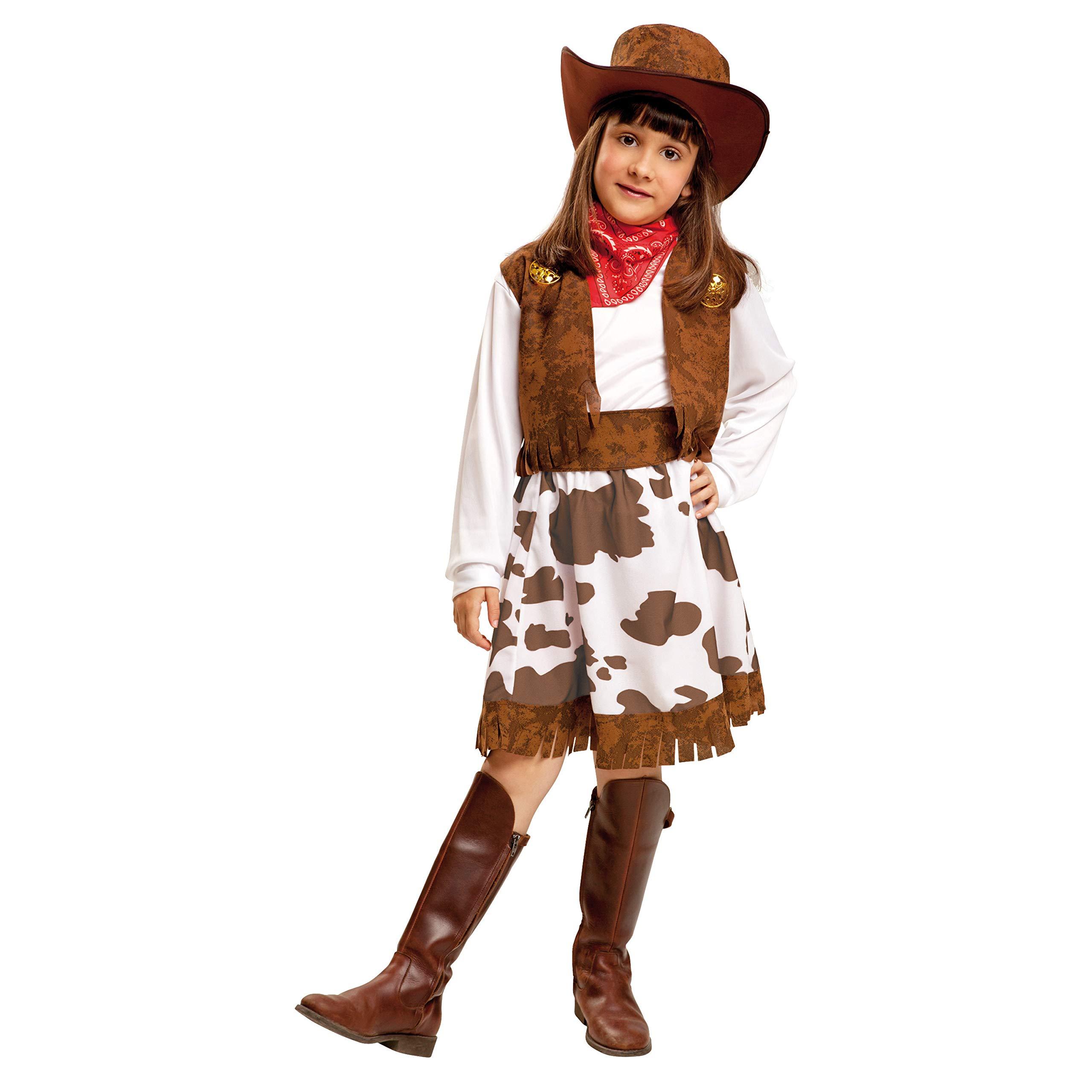 My Other Me Me-200832 Disfraz de vaquera para niña, color blanco y ...
