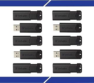 32GB Pinstripe USB 3.0 Flash Drive – Business 10pk – Black
