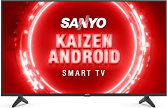 Sanyo 108 Cm 43 Inches Kaizen Series 4K Ultra HD Certified Android LED TV XT 43UHD4S Black 2020 Model