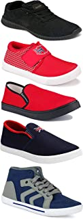 Shoefly Sports Running Shoes/Casual/Sneakers/Loafers Shoes for Men&Boys (Combo-(5)-1219-1221-1140-466-114)