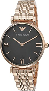 Emporio Armani Women's AR11145 Analog Quartz Rose Gold Watch