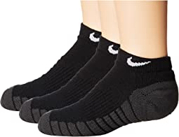 Dry Cushion No Show Socks 3-Pair Pack (Toddler/Little Kid/Big Kid)