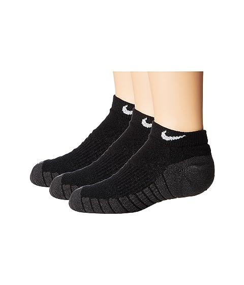 best service 5c21a b4f47 Nike Kids Dry Cushion No Show Socks 3-Pair Pack (Toddler Little Kid Big Kid)