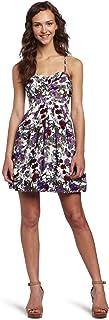 As U Wish Juniors Floral Print Party Dress
