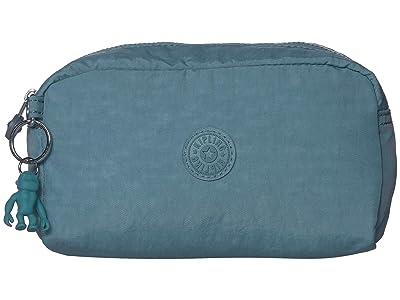 Kipling Gleam Pouch (Aqua Frost) Handbags