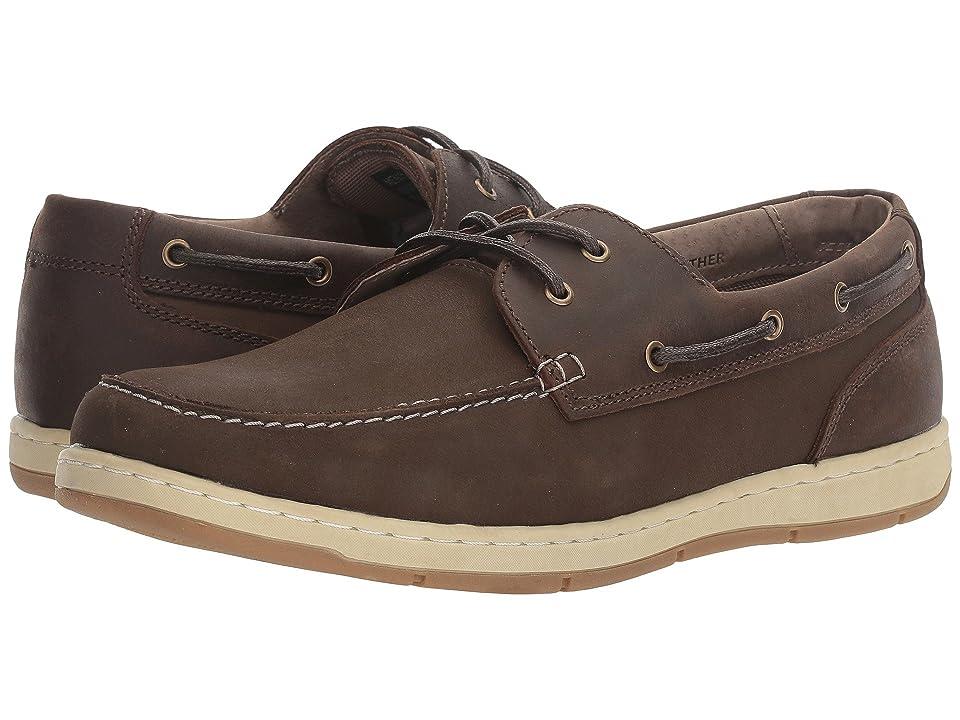 Nunn Bush Schooner Two-Eye Boat Shoe (Brown/Brown) Men