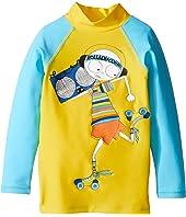 Little Marc Jacobs - Swimsuit Long Sleeve Tee Shirt (Toddler/Little Kids)